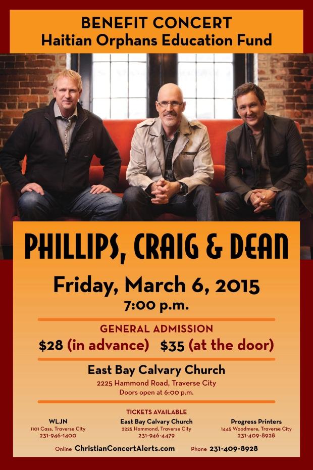 Phillips, Craig, & Dean Benefit Concert